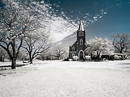 Church shot in Infrared
