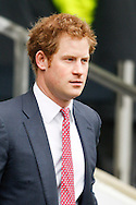 Prince Harry /lo before the RBS 6 Nations match at Twickenham Stadium, Twickenham<br /> Picture by Andrew Tobin/Focus Images Ltd +44 7710 761829<br /> 21/03/2015