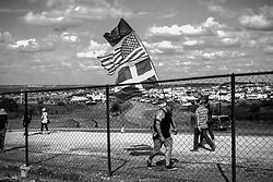 October 21, 2017 - Austin, United States of America - Motorsports: FIA Formula One World Championship 2017, Grand Prix of United States, ..fan  (Credit Image: © Hoch Zwei via ZUMA Wire)