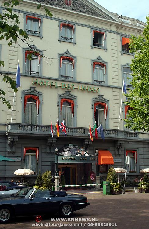 Hotel des Indes Den Haag ingang ext