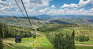 Snowmass, Colorado in summer.