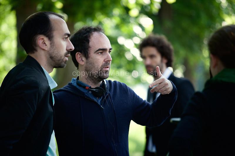 Julien POUPARD (chef opérateur), Christophe REGIN (réalisateur), tournage scène imposée - emergence 2011
