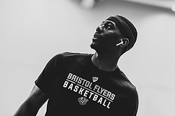 Jalan McCloud of Bristol Flyers - Photo mandatory by-line: Ryan Hiscott/JMP - 26/04/2019 - BASKETBALL - SGS Wise Arena - Bristol, England - Bristol Flyers v London City Royals - British Basketball League Championship