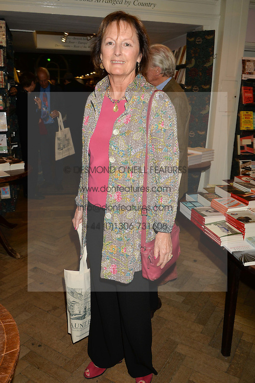 LADY RACHEL BILLINGTON at a party to celebrate the publication of Stanley I Resume by Stanley Johnson at the Daunt Bookshop, Marylebone High Street, London on 23rd September 2014.