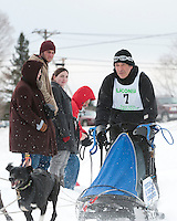 82nd annual Laconia World Championship Sled Dog Derby Sunday, February 13, 2011.