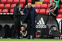 Football - 2019 / 2020 Premier League - Sheffield United vs Tottenham Hotspur<br /> Tottenham Hotspur manager Jose Mourinho reacts angrily , at Bramall Lane.<br /> <br /> COLORSPORT/PAUL GREENWOOD