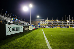 General View inside the recreation ground during the warm up - Rogan Thomson/JMP - 07/10/2016 - RUGBY UNION - The Recreation Ground - Bath, England - Bath Rugby v Sale Sharks - Aviva Premiership.