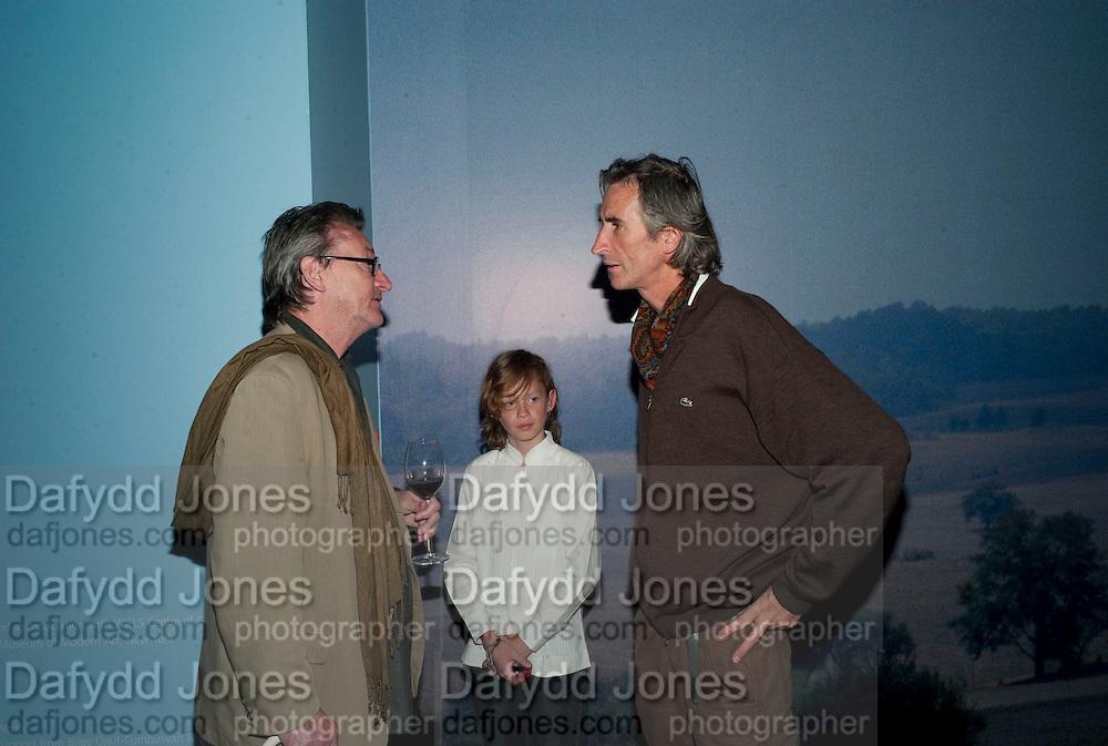 GUY BRETT; ALESSANDRA BONOMO; FRANCIS ALYS, A story of Deception. Exhibition of work by Francis Ayls. Tate Modern. London. 14 June 2010. -DO NOT ARCHIVE-© Copyright Photograph by Dafydd Jones. 248 Clapham Rd. London SW9 0PZ. Tel 0207 820 0771. www.dafjones.com.