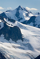 Mount Athelstan 2800 m (9186 ft) seen from Ochre Mountain, Coast Ranges British Columbia Canada