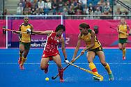 Olympics 2012, hockey, Sachimi Iwao opposed to Marsha Marescia
