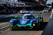 June 10-16, 2019: 24 hours of Le Mans. 47 CETILAR R. VILLORBA CORSE, Andrea BELICCHI, Giorgio SERNAGIOTTO, Roberto LACORTE, DALLARA P217 - GIBSON , morning warmup