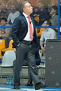 Piero Bucchi<br /> Red October Cantu' - Consultinvest Pesaro<br /> LegaBasket 2016/2017<br /> Desio 13/10/2016<br /> Foto Ciamillo-Castoria