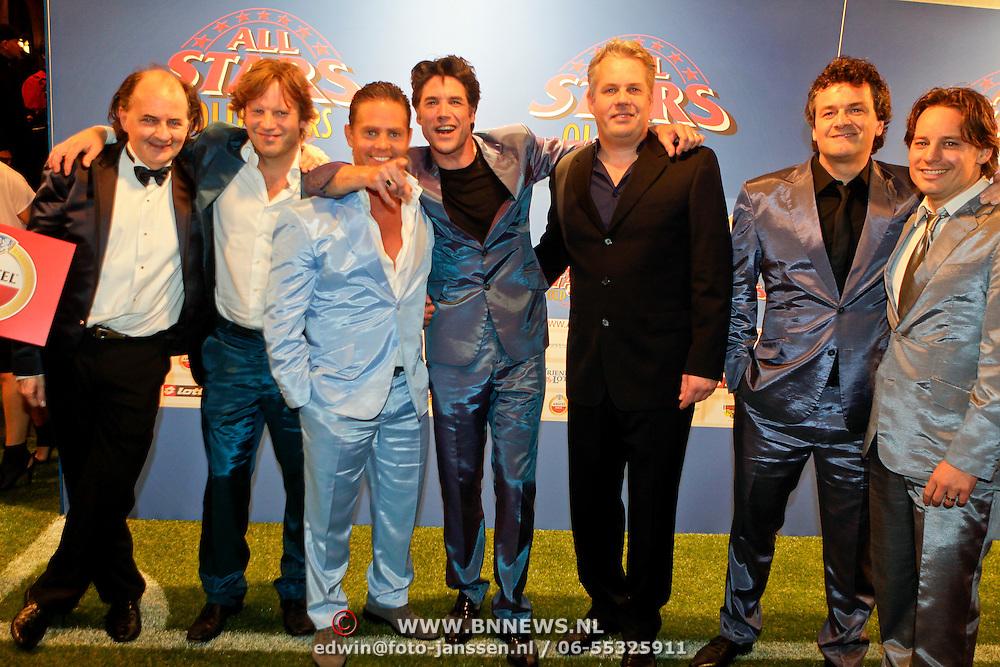 NLD/Amsterdam/20111010 - Premiere All Stars 2, Jean van der Velden, Peter Paul Muller, Danny de Munk, Daniel Boissevain, Thomas Acda, Kasper van Kooten en Cas Jansen