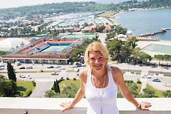 Nina Kelemen during press conference of ATP Challenger Tilia Slovenia Open 2013, on June 20, 2013 in Hotel Metropol, Portoroz, Slovenia. (Photo By Vid Ponikvar / Sportida)