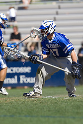 06 May 2007: Air Force goalkeeper Daniel Bellissimo during a 19-6 Duke Blue Devils victory over the Air Force Falcons at Koskinen Stadium in Durham, NC.