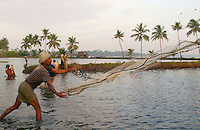 fishing in Kerala-India