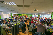 FGR Dining during the EFL Sky Bet League 2 match between Forest Green Rovers and Swindon Town at the New Lawn, Forest Green, United Kingdom on 21 December 2019.