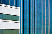 Irvine, CA, Office Buildings,  Architectural,  Exterior, Close up; Architecture; Exterior; Pattern;