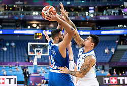 Ioannis Bourousis of Greece during basketball match between National Teams of Greece and Iceland at Day 1 of the FIBA EuroBasket 2017 at Hartwall Arena in Helsinki, Finland on August 31, 2017. Photo by Vid Ponikvar / Sportida