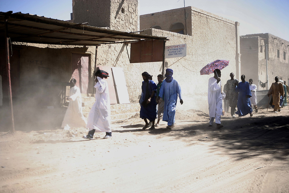 After friday prayer, Timbuktu
