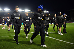 Bath Rugby players leave the field prior to the match - Mandatory byline: Patrick Khachfe/JMP - 07966 386802 - 23/11/2019 - RUGBY UNION - The Twickenham Stoop - London, England - Harlequins v Bath Rugby - Heineken Champions Cup