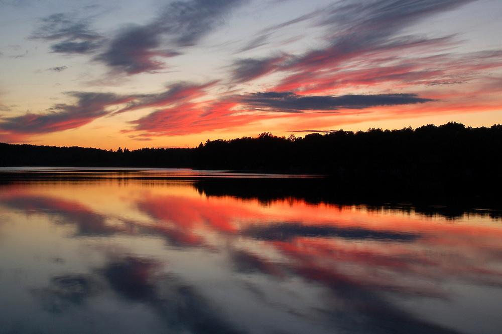 Vaughn Lake.<br /> Alcona County, Michigan