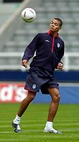 Fotball<br /> England trener før kampen mot Ukraina<br /> 17.08.2004<br /> Foto: SBI/Digitalsport<br /> NORWAY ONLY<br /> <br /> England's Jermaine Jenas will hope to make an impression on his home ground.