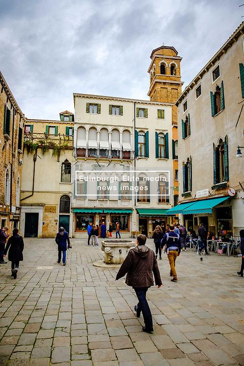 Sestier Santa Croce, Venice, Italy<br /> <br /> (c) Andrew Wilson   Edinburgh Elite media