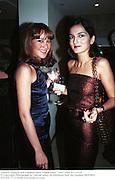 Tamara Yeardye and Yasemin Mills. Vogue party. 1997. © Copyright Photograph by Dafydd Jones 66 Stockwell Park Rd. London SW9 0DA Tel 020 7733 0108 www.dafjones.com