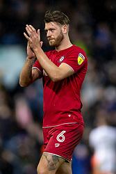Nathan Baker of Bristol City applauds the away fans after the match - Mandatory by-line: Daniel Chesterton/JMP - 15/02/2020 - FOOTBALL - Elland Road - Leeds, England - Leeds United v Bristol City - Sky Bet Championship