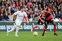 Marcos LOPES  - 08.03.2015 - Guingamp / Lille - 28eme journee de Ligue 1 <br /> Photo : Vincent Michel / Icon Sport