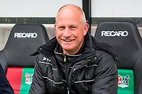 NIJMEGEN- 07-05-2017, NEC - AZ,  Stadion De Goffert, NEC Nijmegen trainer/coach Ron de Groot