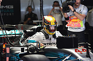 Lewis Hamilton of Mercedes AMG Petronas during the practice session of the Spanish Formula One Grand Prix at Circuit de Catalunya, Barcelona, Spain.<br /> Picture by EXPA Pictures/Focus Images Ltd 07814482222<br /> 12/05/2017<br /> *** UK &amp; IRELAND ONLY ***<br /> <br /> EXPA-EIB-170512-0164.jpg