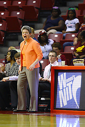 15 March 2012:  Coach Sue Guevara during a first round WNIT basketball game between the Central Michigan Chippewas and the Illinois Sate Redbirds at Redbird Arena in Normal IL