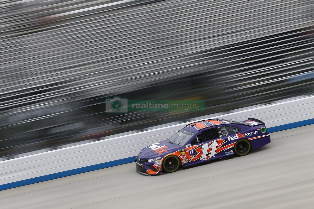 October 5, 2018 - Dover, Delaware, United States of America - Denny Hamlin (11)  takes to the track to practice for the Gander Outdoors 400 at Dover International Speedway in Dover, Delaware. (Credit Image: © Justin R. Noe Asp Inc/ASP via ZUMA Wire)