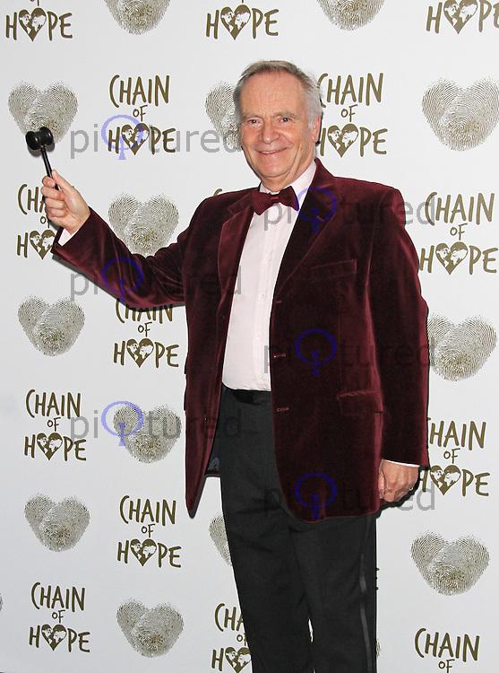 Lord Jeffrey Archer, Chain of Hope Annual Ball 2014, Grosvenor House, London UK, 21 November 2014, Photo By Brett D. Cove