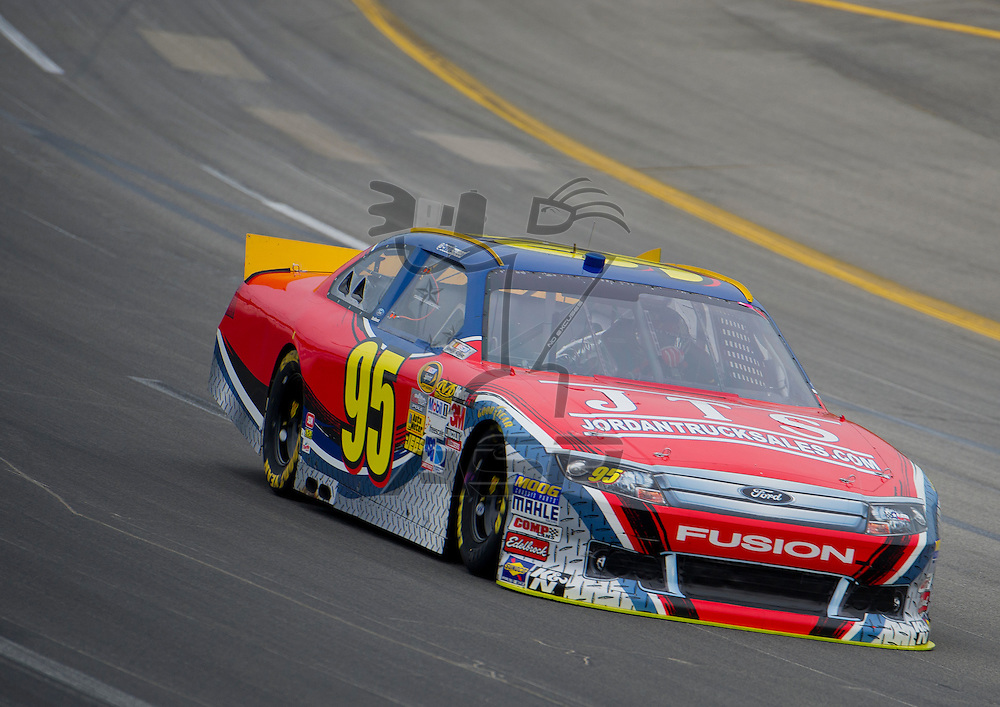 Sparta, KY - JUN 29, 2012: David Starr (95) during qualifying for the Quaker State 400 at Kentucky Speedway in Sparta, KY.