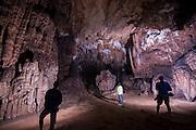 Inside limestone cave, Vang Vieng, Laos