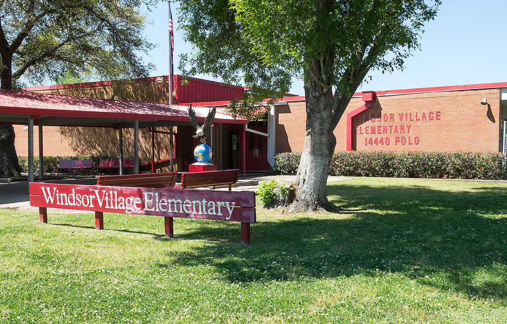 Windsor Village Elementary School photographed April 5, 2013. The school was a recipient of funds from the 2007 Bond.