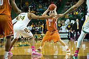 WACO, TX - JANUARY 25: Javan Felix #3 of the Texas Longhorns brings the ball up court against the Baylor Bears on January 25, 2014 at the Ferrell Center in Waco, Texas.  (Photo by Cooper Neill/Getty Images) *** Local Caption *** Javan Felix