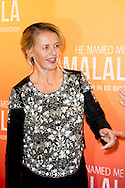 1-11-2015 HILVERSUM - Premiere HE NAMED ME Malala - In the presence of Her Royal Highness Princess Mabel van Oranje in his capacity as board member of the Malala Fund and Neelie Kroes in the Film Theatre Hilversum. COPYRIGHT ROBIN UTRECHT<br /> 1-11-2015  HILVERSUM - Premiere HE NAMED ME MALALA - In aanwezigheid van Hare Koninklijke Hoogheid Prinses Mabel van Oranje in hoedanigheid van bestuurslid van het Malala Fund en Neelie Kroes in het Filmtheater Hilversum .  COPYRIGHT ROBIN UTRECHT