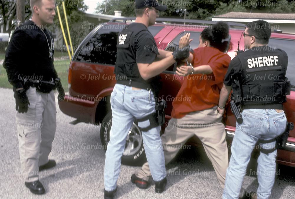 Gang unit arrest joel gordon photography - Orange county sheriffs office florida ...