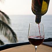 Le Kliff Restaurant, Puerto Vallarta, Mexico, November 28, 2010.  Photo by William Byrne Drumm.
