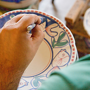 Amalfi coast, Vietri, manufacturing and processing of typical pottery