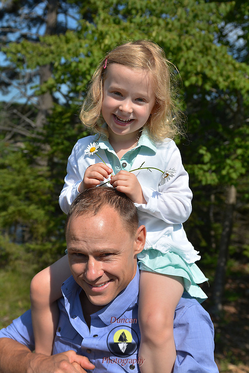 GEORGETOWN, Maine -- 6/30/14 -- Zike Family  portrait. DSC_2271<br /> Photo  ©2014 by Roger S. Duncan <br /> Released for all purposes to Zike Family