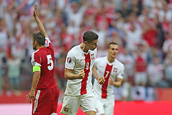 13.06.2015, Nationalstadion, Warschau, POL, UEFA Euro 2016 Qualifikation, Polen vs Greorgien, Gruppe D, im Bild ROBERT LEWANDOWSKI - RADOSC, BRAMKA, GOL // during the UEFA EURO 2016 qualifier group D match between Poland and Greorgia at the Nationalstadion in Warschau, Poland on 2015/06/13. EXPA Pictures © 2015, PhotoCredit: EXPA/ Pixsell/ LUKASZ GROCHALA/CYFRASPORT<br /> <br /> *****ATTENTION - for AUT, SLO, SUI, SWE, ITA, FRA only*****