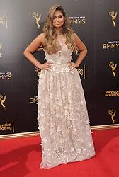 Bethany Mota bei der Ankunft zur Verleihung der Creative Arts Emmy Awards in Los Angeles / 110916 <br /> <br /> *** Arrivals at the Creative Arts Emmy Awards in Los Angeles, September 11, 2016 ***
