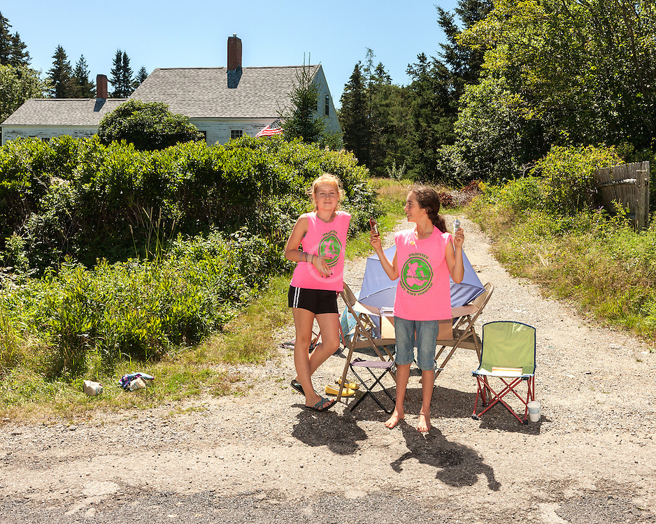 Great Cranberry Island Ultra 50K road race: GU volunteers