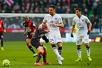 Damien DA SILVA  - 25.01.2015 - Rennes / Caen  - 22eme journee de Ligue1<br /> Photo : Vincent Michel / Icon Sport *** Local Caption ***