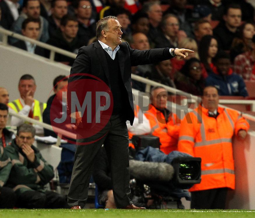 Sunderland Manager, Dick Advocaat - Photo mandatory by-line: Robbie Stephenson/JMP - Mobile: 07966 386802 - 20/05/2015 - SPORT - Football - London - Emirates Stadium - Arsenal v Sunderland - Barclays Premier League